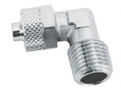ADLER Złączka L zaciskowa 1/8z - 6x4mm