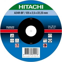 HITACHI Tarcza do cięcia metalu stali 230x3x22,2mm wypukła - PREMIUM