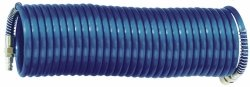 ADLER Wąż spiralny PA  pneumatyczny 10x8mm 1 m