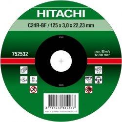 HITACHI Tarcza do cięcia kamienia 180x3x22,2mm płaska - PREMIUM