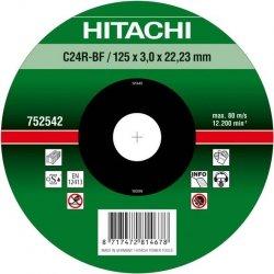 HITACHI Tarcza do cięcia kamienia 230x3x22,2mm wypukła - PREMIUM