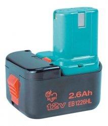 EB1226HL Akumulator bateria 12V 2.6Ah Ni-MH