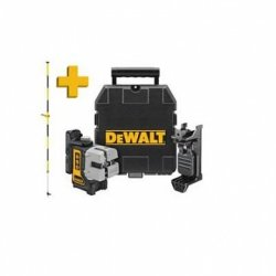 DeWalt DW089KPOL Laser liniowy samopoziomujący