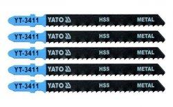 YATO Brzeszczot do WYRZYNARKI METAL TYP T 5SZT YT-3411
