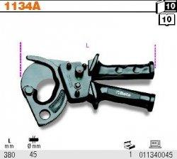 Beta 1134A Szczypce zapadkowe do kabli fi 45 mm