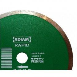 Adiam tarcza diamentowa RAPID Ø180mmx25,4mm