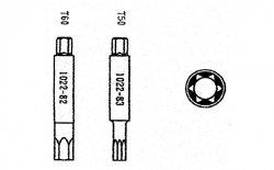 Jonnesway Klucz do amortyzatorów NISSAN, FORD AN050011-83