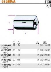 Beta 312BR/A45 Końcówka robocza palnika stalowa