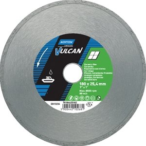 NORTON Tracza diamentowa beton 125x22,23mm VULCAN TILE