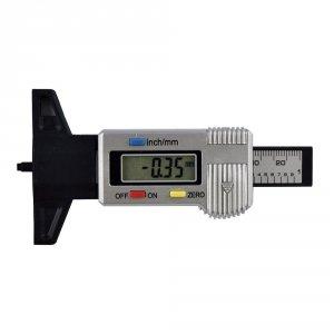 JBM Miernik cyfrowy głębokości bieżnika 0-25mm