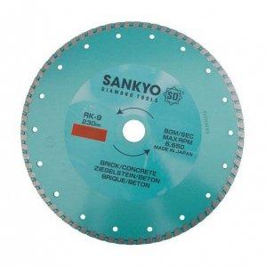 Tarcza diamentowa 125 mm do cięcia ceramiki kamienia RK-5 ciągła 125 x 2,0 x 6 x 22.2mm