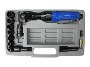 Grzechotka pneumatyczna klucz kątowy 1/2 + NASADKI ADLER