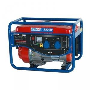 Agregat prądotwórczy generator 2000W 2,2kW AVR DEDRA
