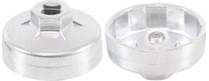 BGS Nasadka do filtra oleju 64/14 aluminium