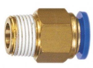 ADLER Końcówka AUTO pneumatyka 1/4z -6mm