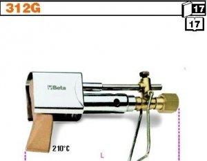 Beta 312G Zestaw: palnik grot miedziany osłona