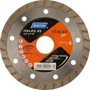 NORTON Tracza diamentowa beton 125x22,23mm VULCAN JET