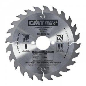 CMT Piła do drewna 291x160x24Z 291.160.24M