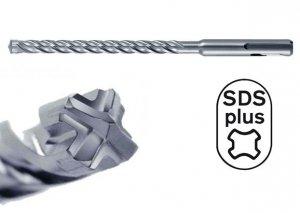HIKOKI Wiertło udarowe 10x310mm SDS Plus 4-spiralne 4-ostrzowe
