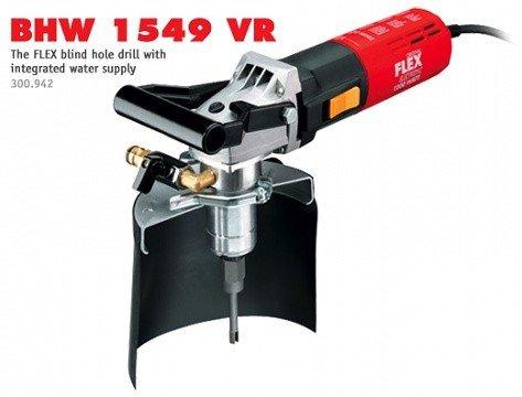 Wiertarka do otworów nieprzelotowych FLEX BHW 1549 VR ze zintegrowanym doprowadzeniem wody (299.197)