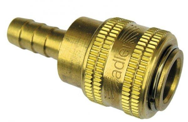 ADLER Szybkozłączka na przewód 8mm MOSIĄDZ