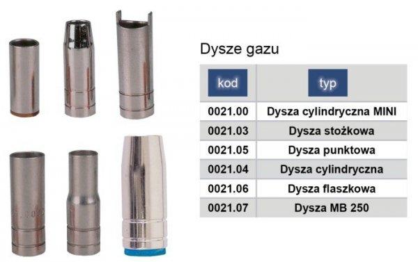 ADLER Dysza gazu MIG/MAG stożkowa TW15