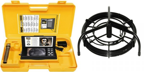 REMS Orcus 3000 Set 30 S-Color H Elektroniczny wizyjny system kontroli