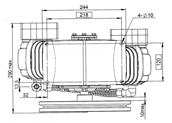 POMPA SPRĘŻARKOWA PP-30-2