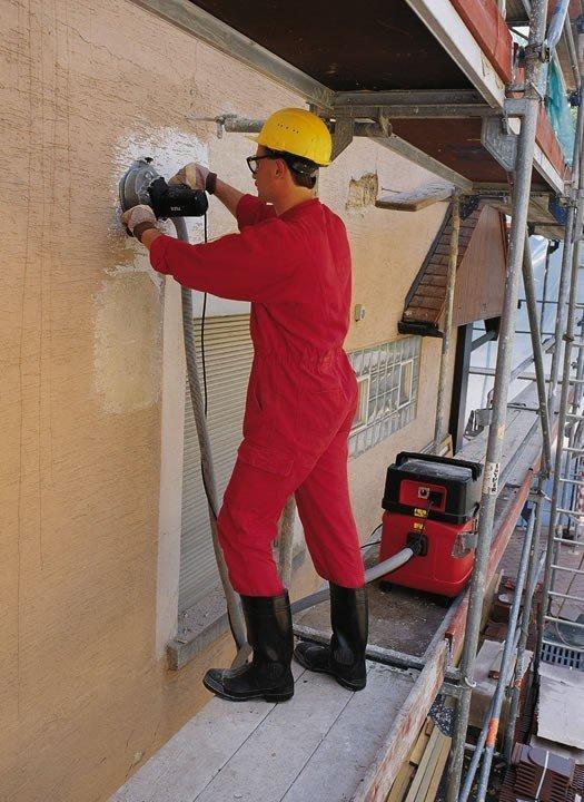 Frezarka renowacyjna FLEX HPI 603 do usuwania tynku, betonu i jastrychu (256.584)