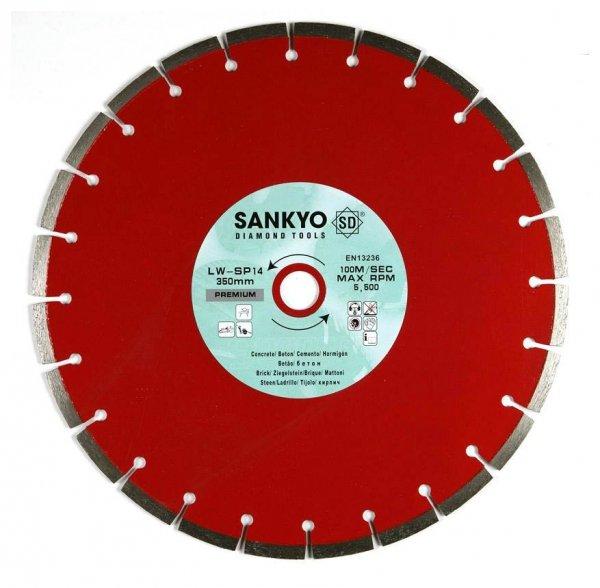 Tarcza diamentowa 300 mm do cięcia cegły betonu LWSP-12 segm.300 x 3,2, x 10,0 x 22,2mm