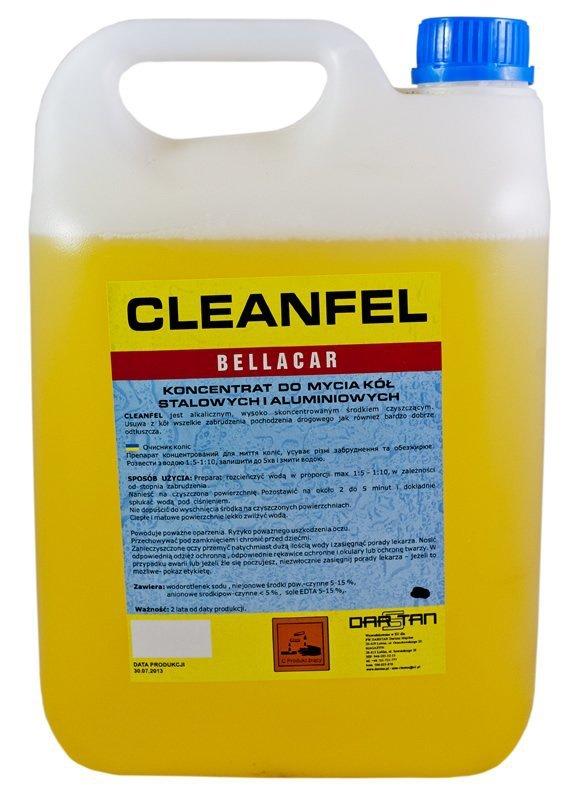 Płyn do mycia felg kołpaków 10kg CLEANFEL