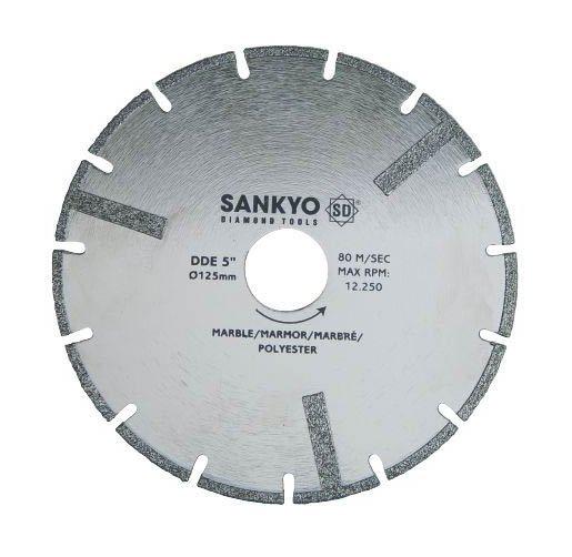 Tarcza diamentowa 300 mm do cięcia kompozytów marmuru tworzyw sztucznych DDE-12 nasyp diamentowy 300 x 2,8 x 3,5 x 25.4mm