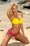 Kostium kąpielowy Aurora Kropki-Tweety M-576 (10)