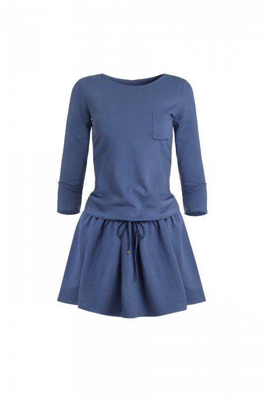 Sportowa Sukienka Anette - indygo