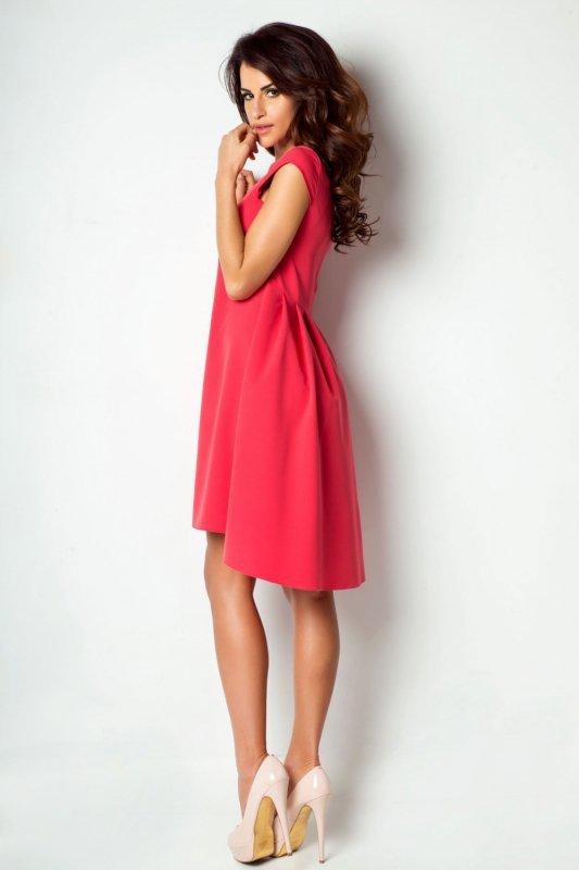 Sukienka Angelina - malinowy