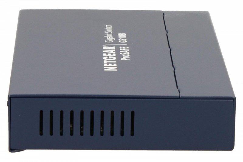 Netgear Switch Unmanaged Plus 8xGE - GS108GE