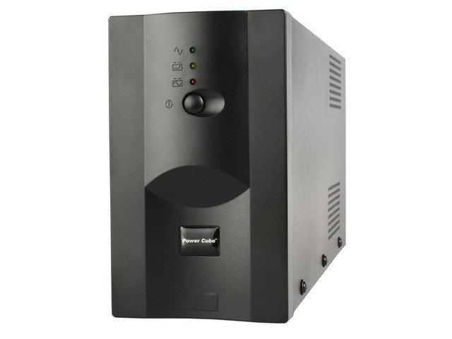 Gembird UPS POWER CUBE USB, RJ12X2 1200VA