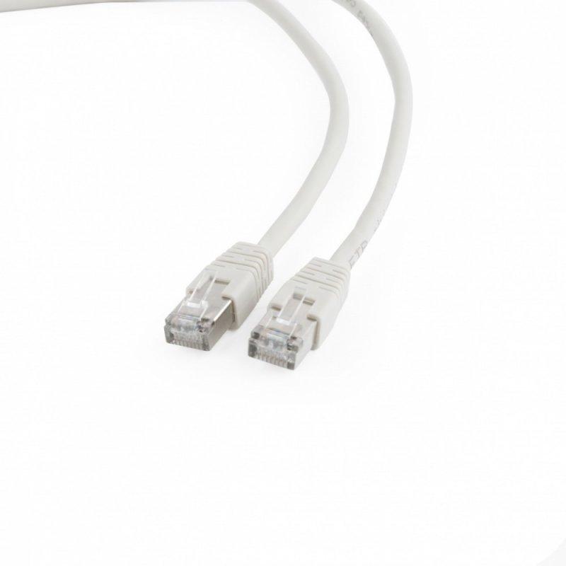 Gembird Patch cord ekranowany FTP kat.6 osłonka zal. 0.5M szary