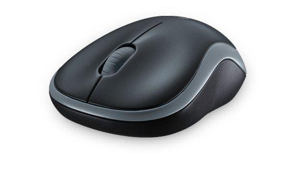 Logitech M185 Mysz bezprzewodowa 910-002238 szara