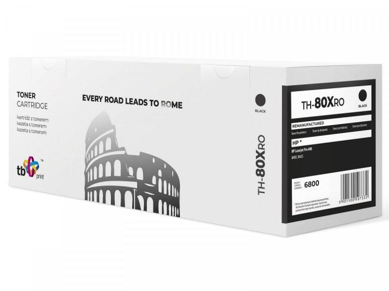 TB Print Toner do HP LJ Pro 400 TH-80XRO BK ref.