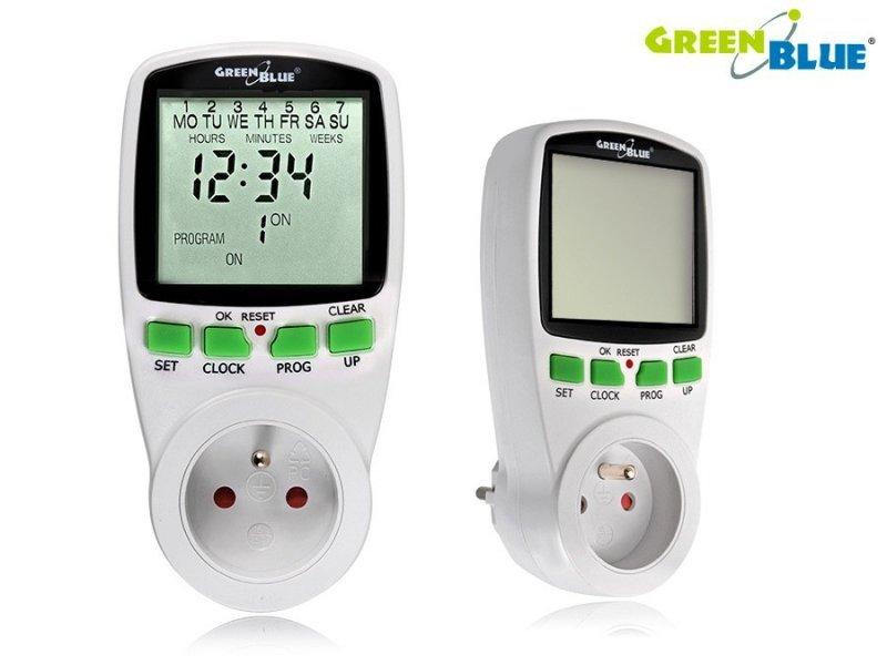 GreenBlue Timer programator GB105 automatyczne włączanie
