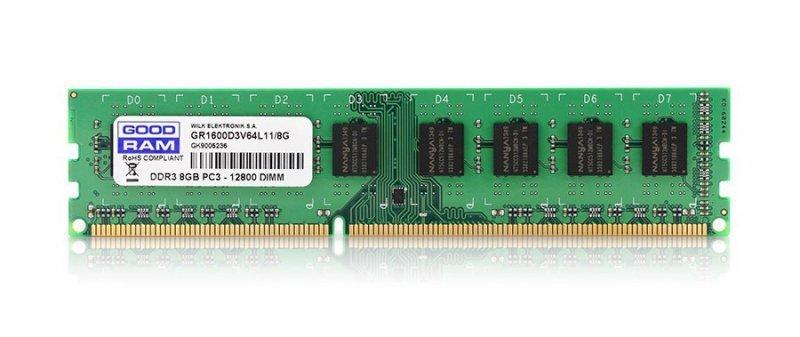 GOODRAM DDR3   8GB/1600 CL11 1,35V Low Voltage
