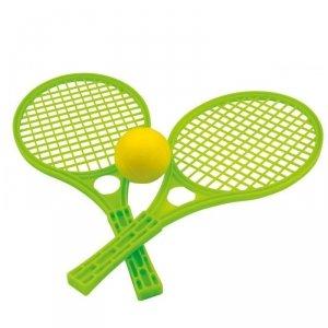 WOOPIE Rakietki Fun Tennis Paletki Dla Dzieci Zestaw Zielony