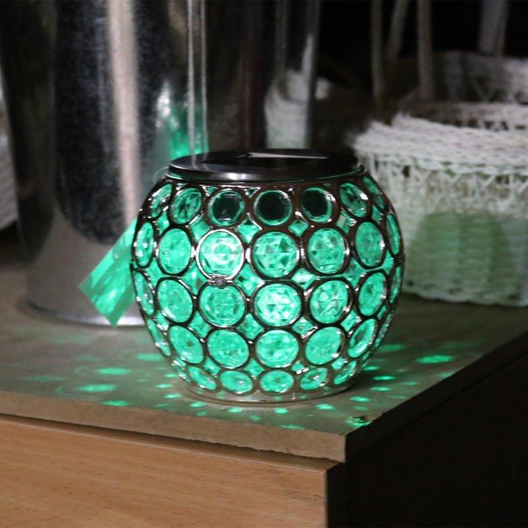 LAMPA SOLARNA DALLAS LAMPION ŚWIECZNIK LAMPKA