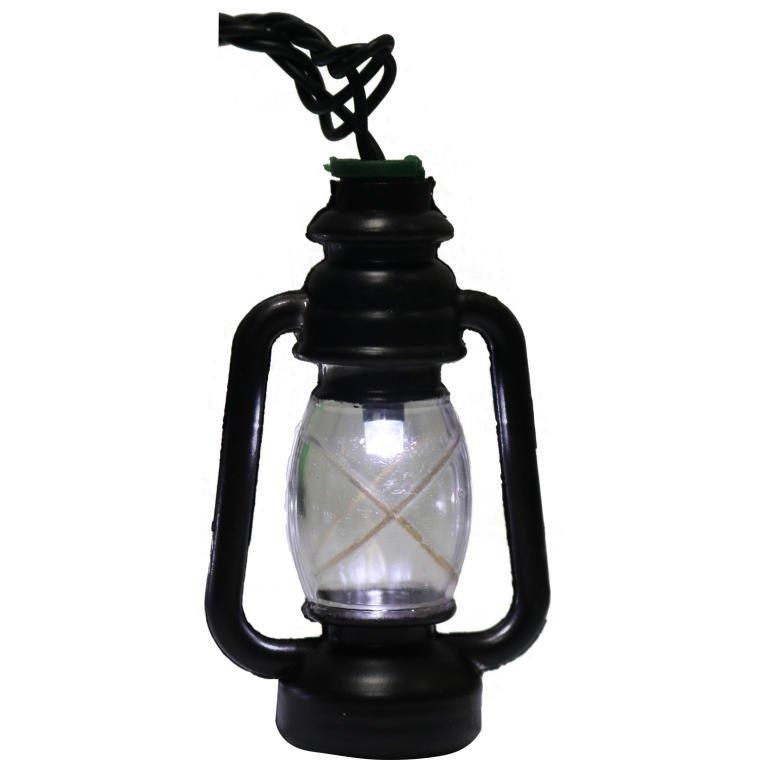 LAMPKI CHOINKOWE 20 LED KSZTAŁT LATARNIE