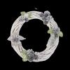 Wianek dekoracyjny (Biały/30cm) - sklep z wiklina - zdjęcie