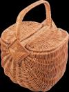 Kosz piknikowy (wzór 5) - sklep z wiklina - zdjęcie