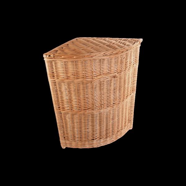 Kosz na ubrania (narożny/45cm) - sklep z wiklina - zdjęcie