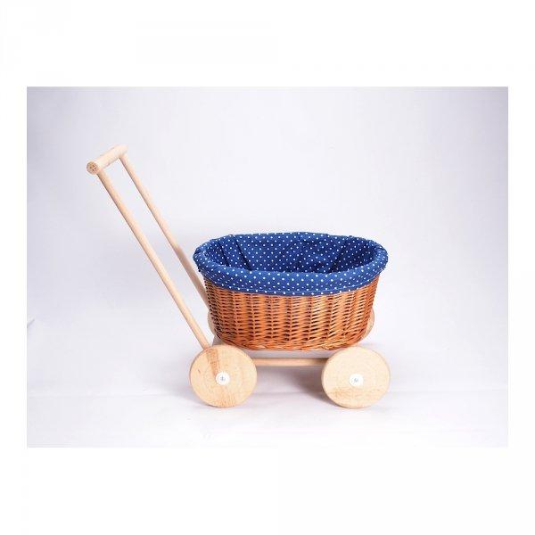 Wózek na Zabawki (Zakupy) - Sklep z wiklina - zdjęcie 4