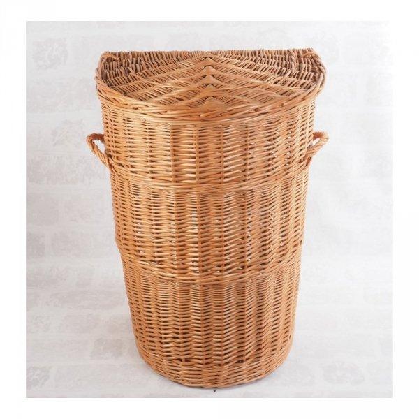 Kosz na ubrania (Półokrągły/45cm) - sklep z wiklina - zdjęcie 2